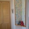 新築わが家のアクセントクロス|トイレ・玄関・手洗い場