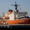 宇宙よりも遠い場所:南極から戻った砕氷艦「しらせ」を見に横須賀へ