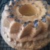 低糖質ラベンダーシフォンケーキ