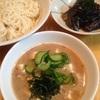 鯖缶で簡単節約、冷や汁素麺ゴハン
