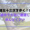 【東海道五十三次を歩く!9日目】道の途中で大名に遭遇したらめんどくさい