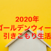 【2020年版】ゴールデンウイークについて☆自粛の嵐でした!