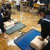 一宮西病院の看護師が市内の中学生に向けて「職業」についての講義をしました