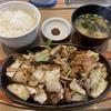 やよい軒「牛カルビ味噌炒め定食」~「お替りロボ」と「茶漬だし」にビックリ!
