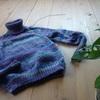 6枚目のセーター完成!