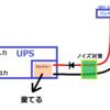 独立型太陽光発電 に UPS を華麗に組み合わせる(ノイズ対策) 後編
