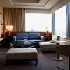 宿泊:ストリングスホテル東京インターコンチネンタル  ザ・スイート AMBASSADOR Sep.30,2019