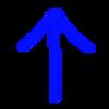 アステロイド(asteroid)タイプの自機の方向転換処理