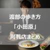 渡部の歩き方情報まとめ小田原編 出張で美味いモノを食べるために知識を増やしましょう