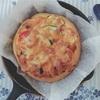 スキレットでピザパン。