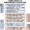 「共謀罪」プライバシー置き去り 国連特別報告者「深刻な欠陥ある法案」 - 東京新聞(2017年5月24日)
