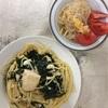 豆腐の味噌マヨパスタ