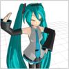 MMD on WebGL ボーンモーションを実装し始めた
