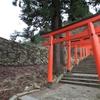 出石城登城!続日本100名城20城目      階段状に築かれた曲輪と高石垣~