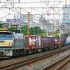 8月27日撮影 東海道線 平塚~大磯間 貨物列車3本撮影 5095ㇾ 3075ㇾ 2097ㇾ