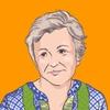 【似顔絵】iPad Proで『マンマ・ミーア!』のキャラクターを描いてみる。〜 ロージー