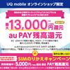 UQモバイルのウェルカムパッケージがアマゾンPrime Dayで100円