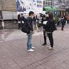 【画像あり】 テレビ局さん ヤラセ取材が通行人にバレてしまうwwwwwwwwwwwwwwwwww