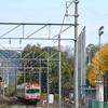 今日(11/22) と 明日(11/23)の近江鉄道