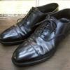 靴修理クロケット&ジョーンズCrockett&Jones紳士靴のビブラムハーフソール