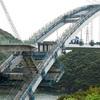 大矢野バイパス「新1号橋」姿現す