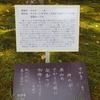 万葉歌碑を訪ねて(その1079)―奈良市春日野町 春日大社神苑萬葉植物園(39)ー万葉集 巻三 三七九