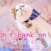 【週末英語#123】「bank on 〜」は銀行じゃないよ「当てにする」って意味で使われるよ