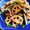 豚肉と蓮根の味噌炒め(動画レシピ)