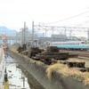 多度津工場に止まっていたキハ47-1118とキハ47-1120は