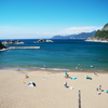 西伊豆の海12(赤井浜 雲見海水浴場 千貫門ビーチ)