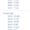 2020年のパニ速記事数