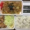 ダイニング菜々&禄の鶏唐揚弁当と焼きそば