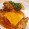 西新宿の美味しいミートローフ丼♪