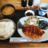 9/4(金)チーズメンチカツ定食、スパイスカレー