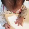 赤ちゃんの手先の運動