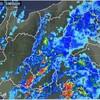 「佐久の季節便り」、「雷雨」10ミリ、晩秋の早朝に…。