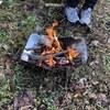 【Picogrill398】焚き火台でステーキを焼いた休日