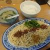 水天宮前【西北拉麺TOKYO】牛肉拌麺 ¥780+ご飯 ¥150