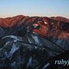 丹沢山・塔の岳。2月上旬。