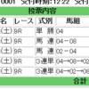 2018/09/29(土) 4回中山8日目 9R カンナS 芝1200m(C)