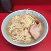 【ラーメン】ラーメン二郎歌舞伎町店 新宿で ラーメン麺カタメヤサイニンニクアブラ