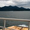 遠景の厳島