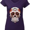 Great Baltimore Orioles sugar skull shirt