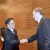 不公正貿易「日米で是正」世耕氏と通商代表合意