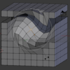 うしほん CHAPTER 04 01 プロポーショナル編集 でメッシュを範囲変形させる #BlenderPractice