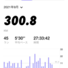 【月間走行距離300km】1ヶ月で300kmを走ってみた感想