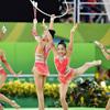 新体操団体、日本は8位 ロシアが5連覇