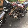 バイク(Kawasaki:Dトラッカー:125cc)を買った。