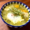 【771】野菜肉卵スープ