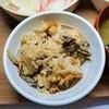 【まごわやさしい】帆立と塩昆布の炊き込みもち麦ご飯定食の作り方。